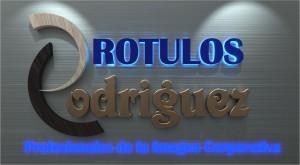 Rótulos Rodriguez, letras corporeas