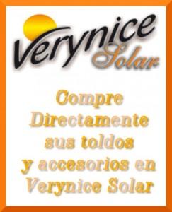 Toldos Verynice solar venta directa
