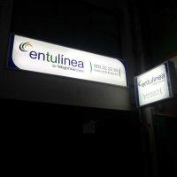 Rótulos luminosos en la empresa En Tú Línea en Jaén, Palma de Mallorca e Ibiza