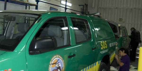 Rotulación vehículos de la Fundación FIDA