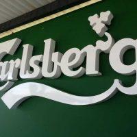 La Nuit Toledo corpóreas logo Carlsberg